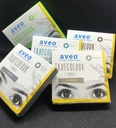[AveoBlue] Aveo Truecolor 1-Month 2 lenses/ box (Blue, -4.50)