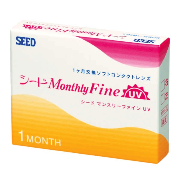 SEED Monthly Fine -3 lenses/ box