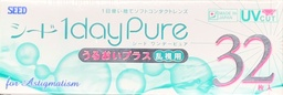 SEED 1 day Pure for Astigmatism 32 lenses/box