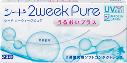 SEED 2 week Pure -6 lenses/ box