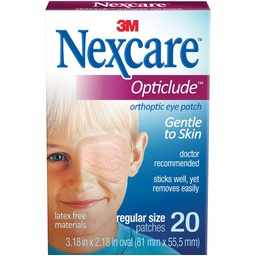 Eyepatch 3M Nexcare box/Junior 20pc