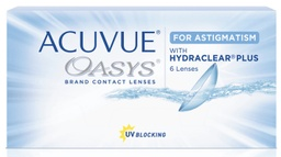 Acuvue Oasys 2-weeks for Astigmatism 6 lenses/box