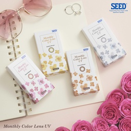 SEED Monthly Colour lens UV - 2 lenses/box